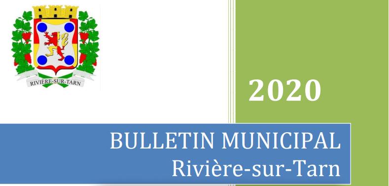 Bulletin municipal Rivière-sur-Tarn 16/12/2019