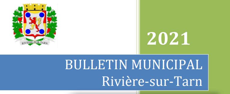 Bulletin municipal Rivière-sur-Tarn 17/12/2020