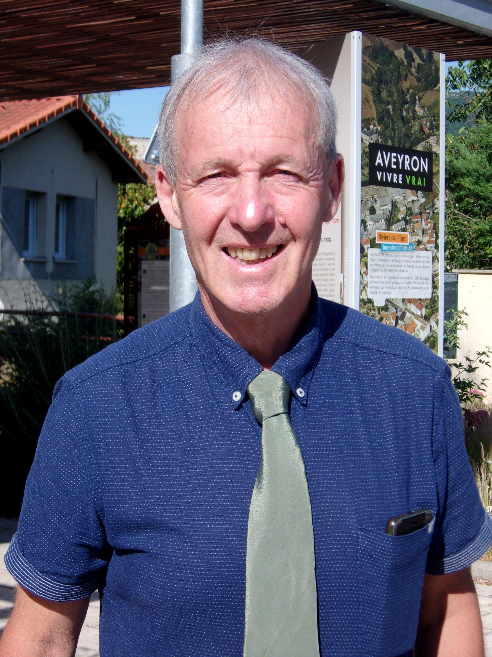 Christian Forir maire de Rivière-sur-Tarn