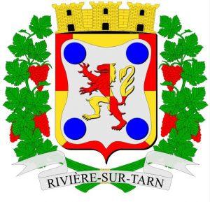 Blason de la commune de Rivière-sur-Tarn