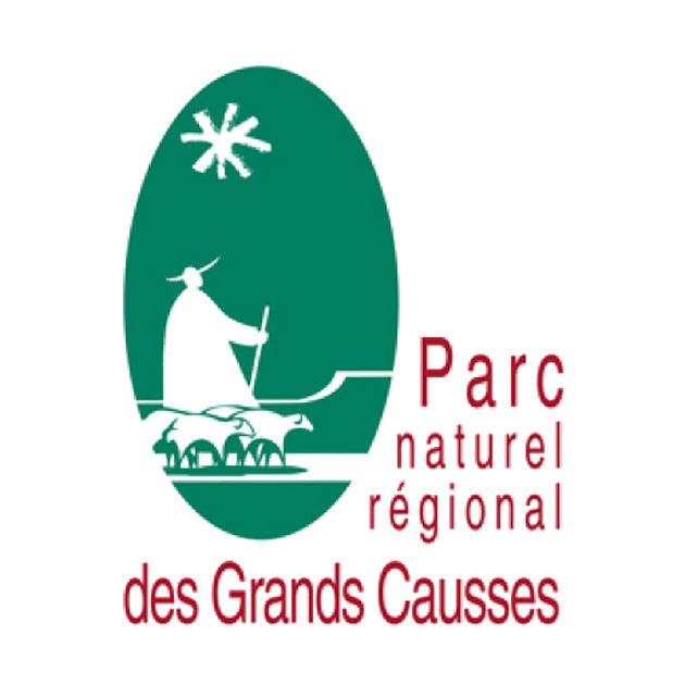 Logo parc naturel régional des Grands Causses
